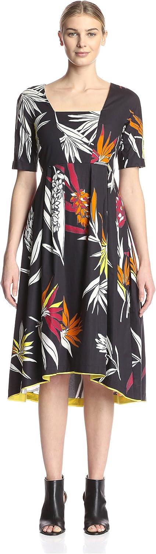 Beatrice B. Women's Botanical Printed Dress