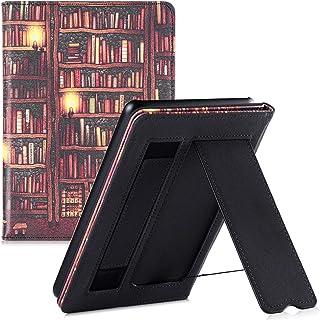 BOZHUORUI Folio Case for All-New Kindle Paperwhite 10th Generation - 2018 Released (Model PQ94WIF) - Lightweight Slim PU L...
