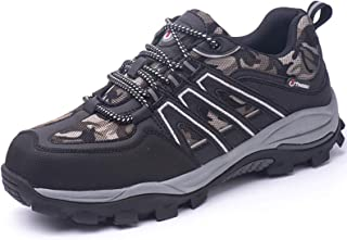 Safety Boots for Men Women Work Shoes Steel Toe Caps Sport Sneakers Breathable Lightweight Reflective Work Shoes