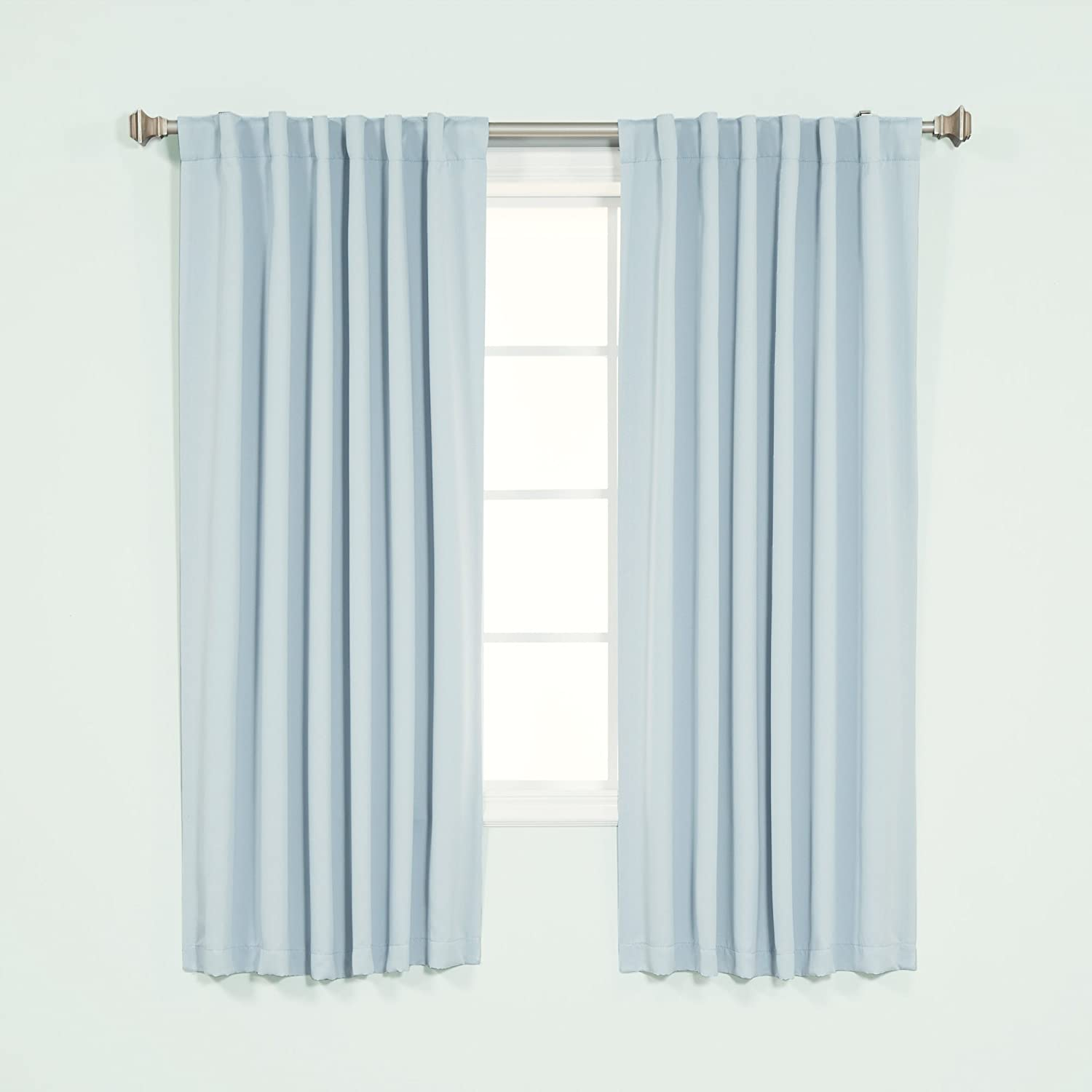 Best Genuine Free Shipping Home Fashion Basic Thermal - Insulated Ba Curtains Blackout Brand Cheap Sale Venue