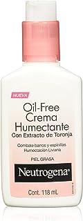 Neutrogena Oil Free Crema Humectante Combate Barros y Espinillas, 118 ml
