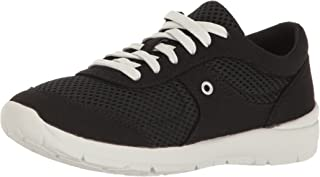 Easy Spirit Women's Gogo2 Fashion Sneaker, Black Fabric