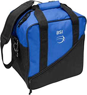 BSI, Inc. Solar Single Bag, Black/Royal