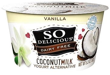 So Delicious Dairy Free Coconutmilk Yogurt Alternative, Vanilla, 5.3 oz