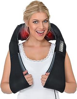 Nekmassageapparaat HET ORIGINEEL Donnerberg München Shiatsu massageapparaat nek schouder massage + effectieve TRILFUNCTIE ...