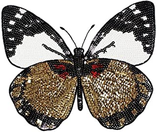 CAOLATOR.Patch Sticker DIY Ropa Decorativa Pegatinas de Tela Mariposa Ropa de Calcomanías Decorativas para Manualidades Adornos de Bricolaje