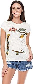 Splash Character Round Neck T-Shirt For Women