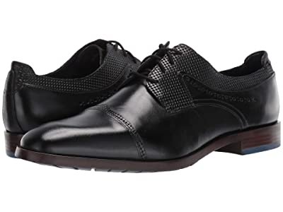 Stacy Adams Raiden Cap Toe Oxford (Black) Men