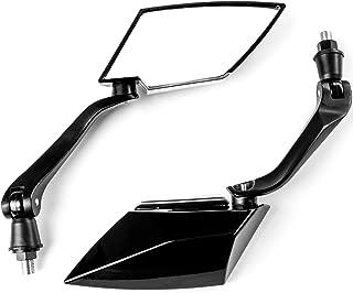 Krator Universal Black Motorcycle Mirrors for Honda VTX 1800 TYPE C R S N F T RETRO