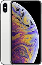 Apple iPhone XS Max with FaceTime - 256GB, 4G LTE, Silver (MT542B/A)