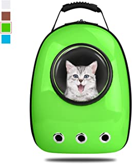 eb046d7268 Anzone Cat Space Capsule Carrier Backpack, Pet Bubble Window Tote Bag  Portable Lightweight Travel Handbag