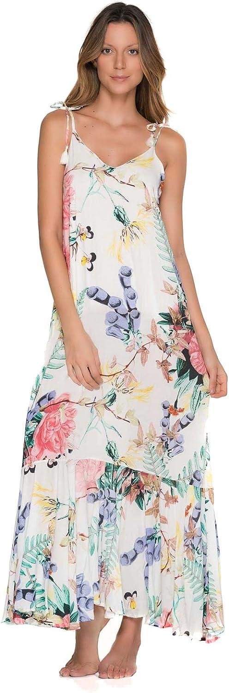Malai Flowery RUFFINO Maxi Dress