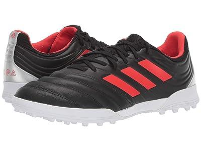 adidas Copa 19.3 TF (Core Black/Hi-Res Red/Silver Metallic) Men