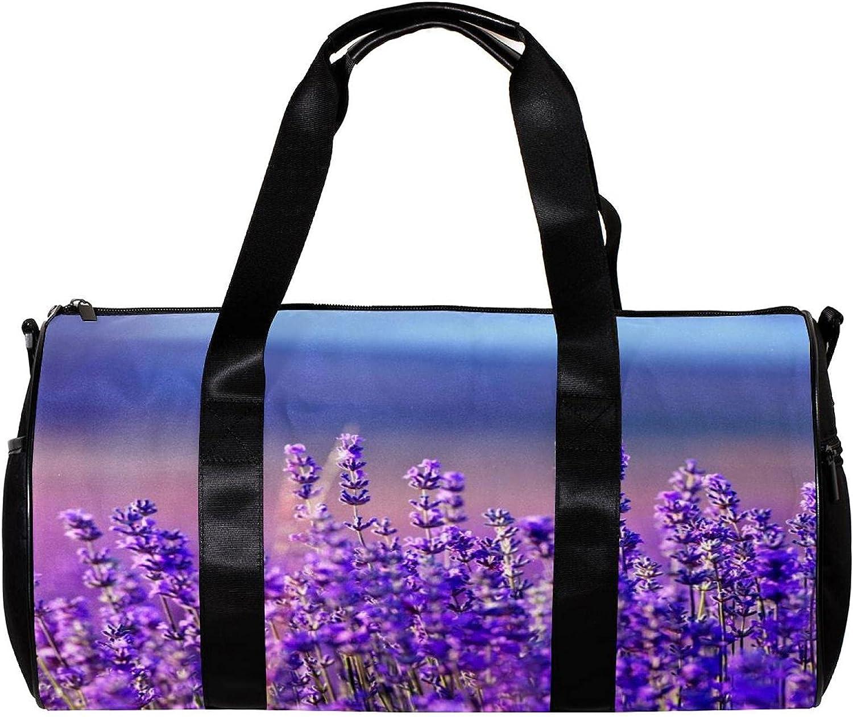 1 year Low price warranty Bucket of sports bag Lavender size: inch Bag Duffel 17.7x9x9 Gym