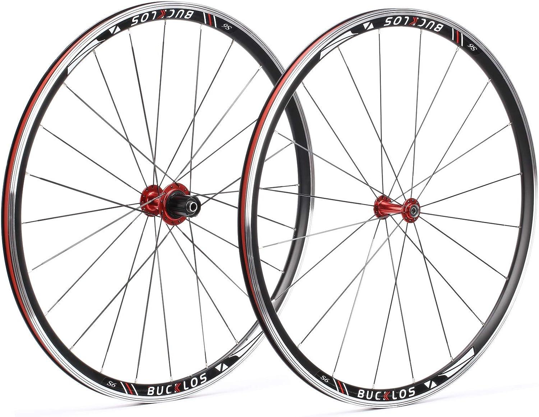 BUCKLOS【US テレビで話題 Stock】 Road 在庫一掃売り切りセール Bike Wheel QR Wh 700c Alloy Aluminum