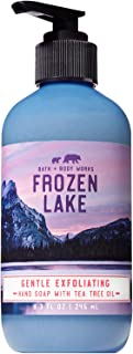 Bath and Body Works FROZEN LAKE Gentle Exfoliating Hand Soap 8.3 Fluid Ounce