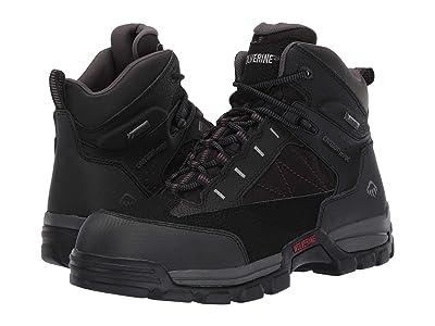 Wolverine Amphibian 6 Amphibian Composite Toe EH WP Boot (Black) Men