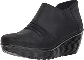 Skechers PARALLEL - Curtail - Twin Gore Ruched Bootie womens Ankle Boot