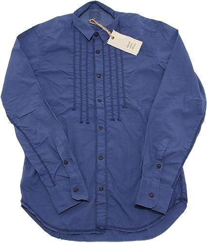 COAST WEBER 5654L Camicia hommes violet Manica Lunga Camicie Shirts Hommes