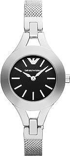 Emporio Armani AR7328 Ladies Black and Silver Chiara Watch
