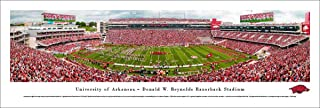 Arkansas Razorback Football - College Posters, Framed Pictures and Wall Decor by Blakeway Panoramas