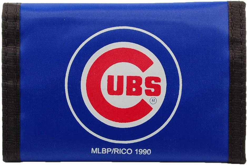 Rico MLB Chicago Cubs Nylon Trifold Wallet : Sports Fan Wallets : Sports & Outdoors
