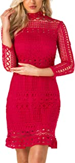 Best high neck christmas party dress Reviews