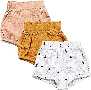 6 Pack Newborn Toddler Infant Lovely Cotton Underpants Little Girls Briefs Hipster Knickers Girls Panties 1-12 Years URMAGIC Baby Girls Underwear