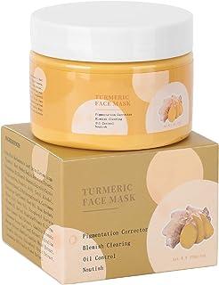 Förbättra Dullness Gurkmeja Face Mask Mud Mask Facial Mask för fuktighet och ljusare hudton för att förbättra Dullness