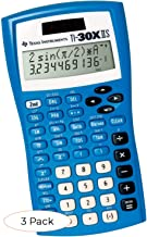 $94 » TI-30XIIS? Scientific Calculator, Blue (Pack 3)