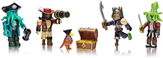 Roblox Action Collection - Pirate Showdown Four Figure Pack [Includes Exclusive Virtual Item]