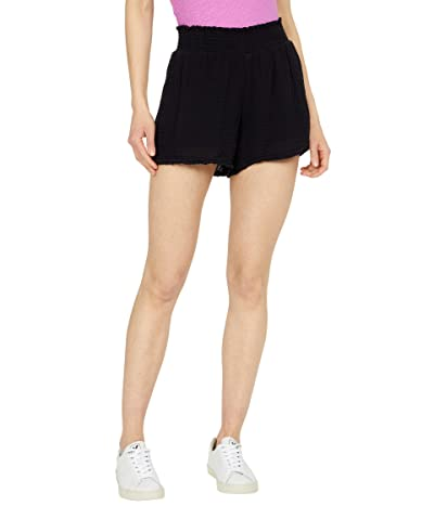 Michael Stars Peggy Double Gauze Smock Waist Shorts Women