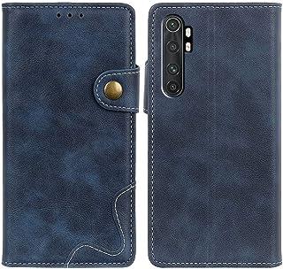 MOONCASE Case for Xiaomi Mi Note 10 Lite, Premium PU Leather Cover Wallet Pouch Flip Case Card Slots Magnetic Closure Mobi...