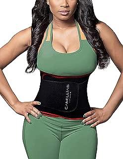 SHAPERX Waist Trimmer Belt - Waist Eraser Sauna Sweat Band Trainer for Weight Loss