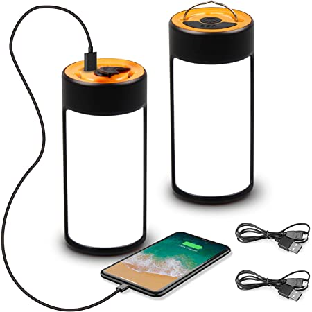 Portable Waterproof Solar Camping Lights 2-Mode For Outdoor Working Tent Lights