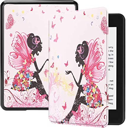 Vicstar Slim Shell for All-New Kindle Paperwhite Case, Ultra Lightweight Slim Smart Protective Cover Case for All-New Amazon Kindle Paperwhite 10th Generation 2018