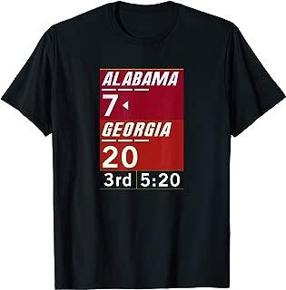 Alabama 26-23 Comeback Win 2-Sided Shirt
