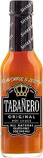 Tabañero Original Hot Sauce, Gluten Free, 5oz. Bottle
