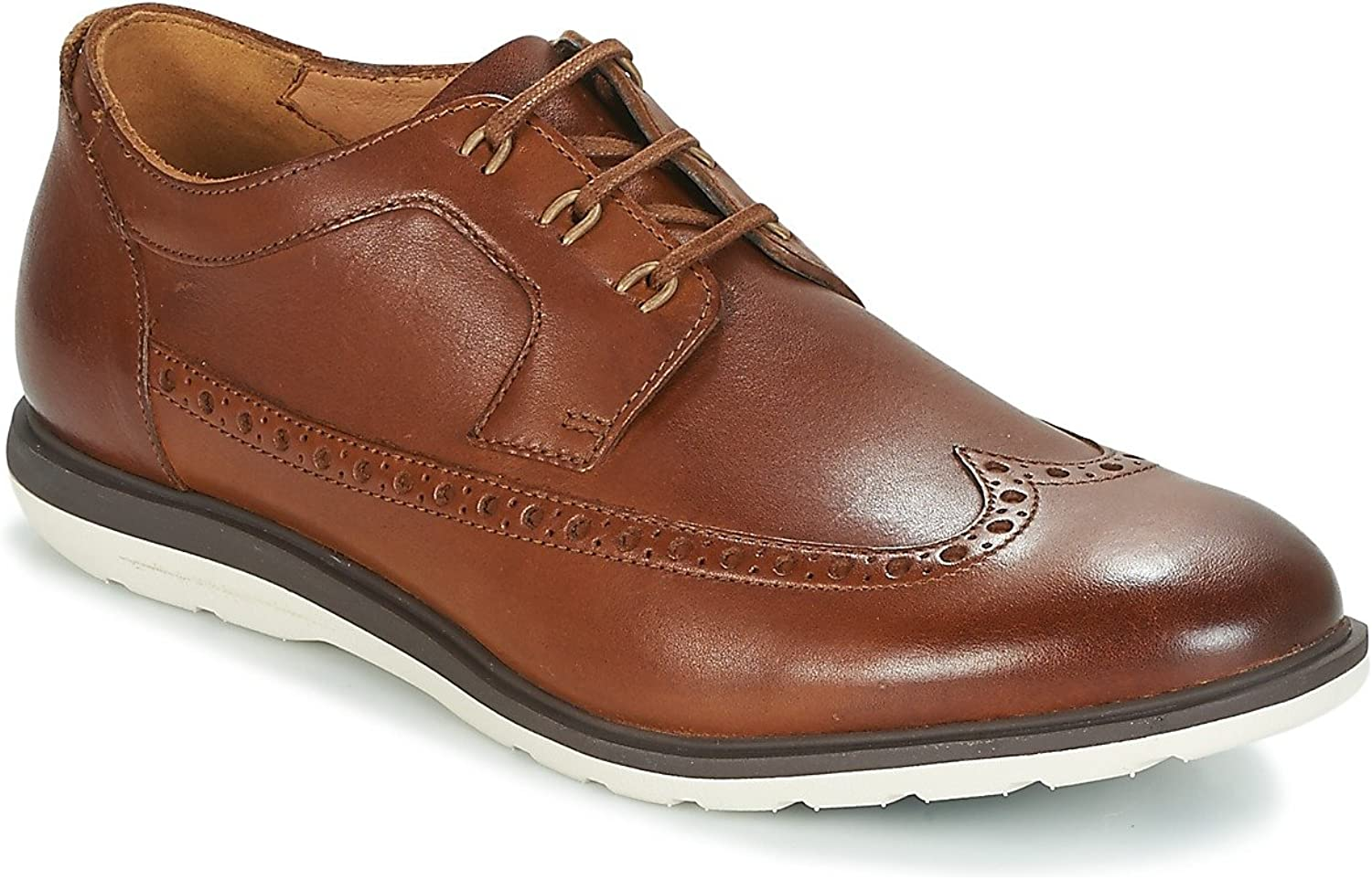 Clarks shoes 26133905 GLASTON Wing Brown