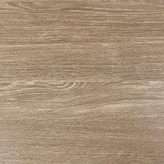 Klebefolie in brauner Holz-Optik 200 x 67,5cm I Selbstklebende Folie für Möbel Küche & Deko I Blickdichte Selbstklebefolie hitzebeständig & abwaschbar I 3D Holz-Maserung Dekor Sheffield Eiche