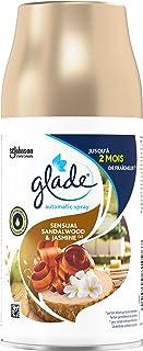 Glade Automatic Spray - Diffuseur de Parfum Automatique - Sensual Sandalwood & Jasmine - 3 Recharges
