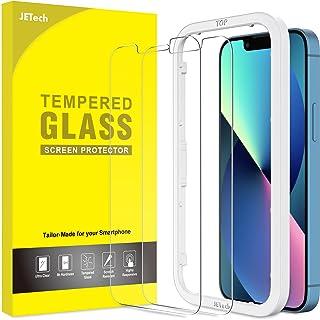 JETech Schermbeschermer Compatibel met iPhone 13/13 Pro 6,1-Inch, Gehard Glas Screen Protector met Eenvoudig te Installere...
