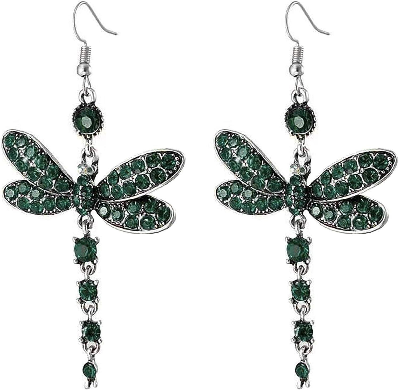 Drop Earring Dragonfly Shape Pendant Earrings Dangle Earrings for Women,Teen Girl Hook Earrings Jewelry Accessories,Fashion Dangle Fashion Jewelry, Best Gift For Valentine's Day Birthday