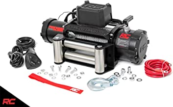 Rough Country 12,000 LB PRO Series Electric Winch w/Steel Cable PRO12000 Pro Series Electric Winch Steel