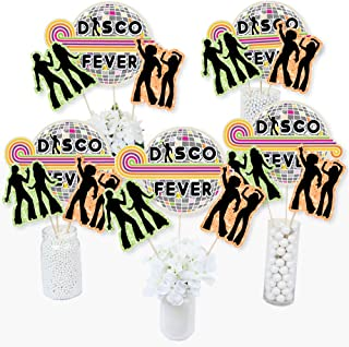 70's Disco - 1970s Disco Fever Party Centerpiece Sticks - Table Toppers - Set of 15