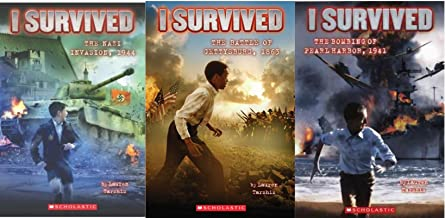 I Survived 3 Pack (Nazi Invasion, 1944; Bombing of Pearl Harbor, 1941; Battle of Gettysburg, 1863) [Paperback]