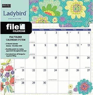 Ladybird File It 2020 Wall Calendar