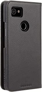 Case Mate Pixel 2 XL Wallet Folio - Leather Wallet - ID + Cards + Cash - Protective Design for Google Pixel 2 XL - Black
