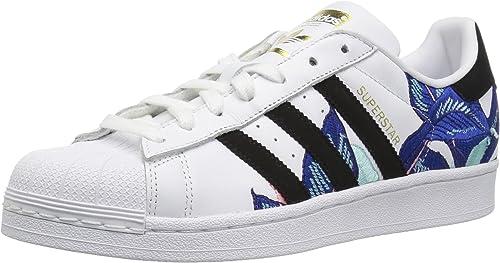 Adidas Originals Wohommes Superstar chaussures Running, blanc noir or Metallic, 10 M US