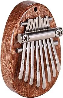 Piano à pouce Kalimba à 8 touches, piano de poche portable, c'est le cadeau le meilleur et le plus chaleureux pour les enf...